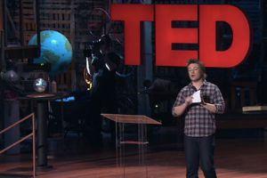 Jamie Oliver bei der TED 2010