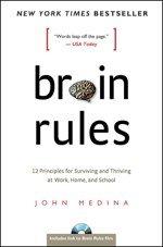 Cover des Buches Brain Rules von John Medina