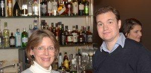 Patricia Lane und Phil Waknell beim TweetUp mit Garr Reynolds