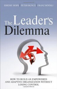 Buchcover: The Leader's Dilemma