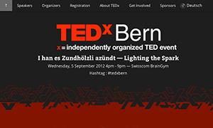 TEDxBern – I han es Zündhölzli anzündt
